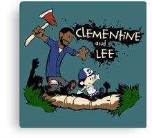 Clementine and Lee Canvas Print