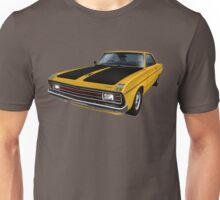Chrysler Valiant VG Pacer Coupe - Mustard Unisex T-Shirt