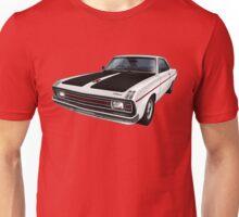 Chrysler Valiant VG Pacer Coupe - White Unisex T-Shirt