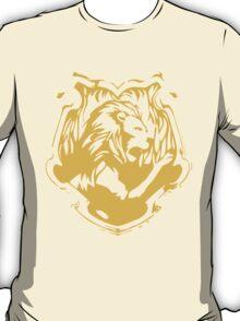 Gryffindor Silhouette - Gold T-Shirt