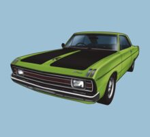 Chrysler Valiant VG Pacer Coupe - Green Go Baby Tee