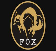 "MGS - ""FOX"" Logo by ArtPower"