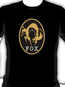 "MGS - ""FOX"" Logo T-Shirt"