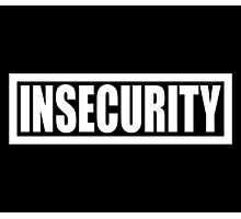 Insecurity Security Guard  Photographic Print