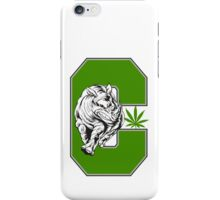 White Rhino Marijuana iPhone Case/Skin