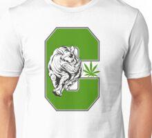 White Rhino Marijuana Unisex T-Shirt