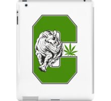 White Rhino Marijuana iPad Case/Skin