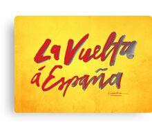 La Vuelta a Espana Canvas Print