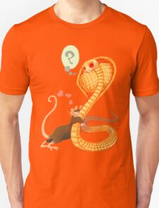 Rat Loves Snake Unisex T-Shirt