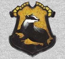 Hufflepuff Crest v2 by dopefish