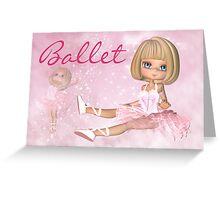 Any Occasion Ballet - Ballerina Greeting Card Greeting Card