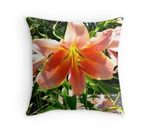 Yuri - flower series Throw Pillow