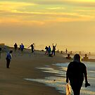 Cape May Sunworshippers by dandefensor
