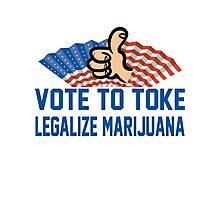 Legalize Cannabis Photographic Print