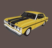 Ford Falcon XY GT - Yellow Baby Tee