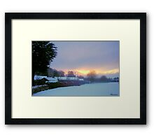 Welcoming In Christmas! Framed Print