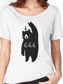 Black Bear Metal Women's Relaxed Fit T-Shirt