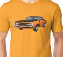 Chrysler Valiant VH Charger - Orange Unisex T-Shirt