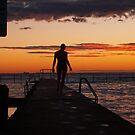 dawn swimmer  by Juilee  Pryor