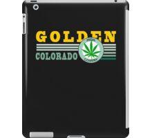 Cannabis Golden Colorado iPad Case/Skin