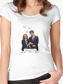 I love you and I like You Women's Fitted Scoop T-Shirt