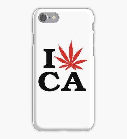 I Love Marijuana Canada iPhone Case/Skin
