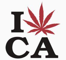 I Love Marijuana Canada by MarijuanaTshirt