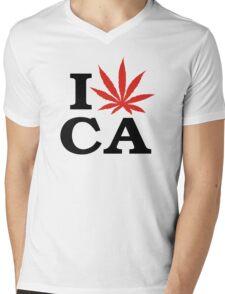 I Love Marijuana Canada Mens V-Neck T-Shirt