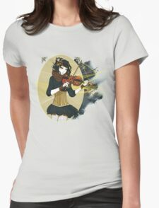Violin Enamor Womens Fitted T-Shirt