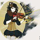 Violin Enamor by Bianca Loran