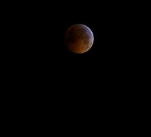 Full! Lunar Eclipse on the Winter Solstice - 2010 by Jonathan Bartlett