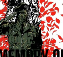 """MGS - """"In Memory Of Patriot"""" Sticker"""