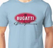 Classic Car Logos: Automobiles Ettore Bugatti (signature) Unisex T-Shirt