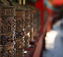 Wheels of Prayer by Vikram Franklin