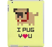 Pixel pug iPad Case/Skin