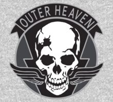 """MGS - """"Outer Heaven"""" Logo by ArtPower"""