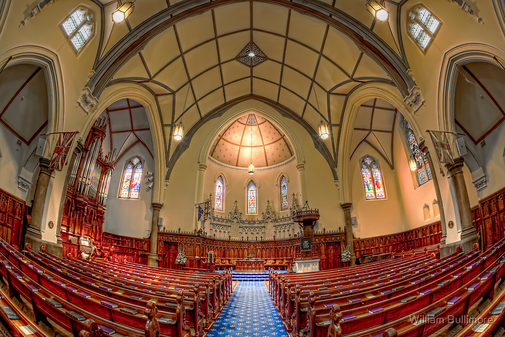 Scots' Church • Melbourne by William Bullimore