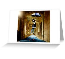 Learning to Fly.... Greeting Card