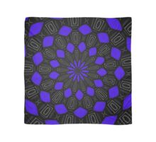 Purple and Black Pattern Scarf