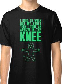 Vault Boy - Knee (ENG) - Green Classic T-Shirt