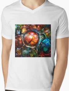 Illusions in Ink #1 Mens V-Neck T-Shirt