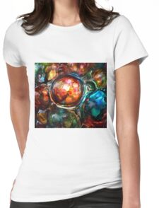 Illusions in Ink #1 Womens Fitted T-Shirt