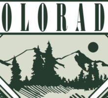 """Marijuana Colorado Springs """"Lite It Up"""" Sticker"""