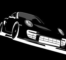 Porsche 911 GT2 Night by ArtPrints