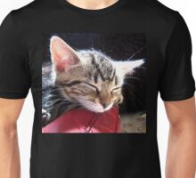 Wherever I lay my cat (that`s my home) Unisex T-Shirt
