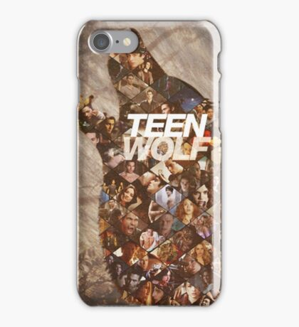 Teen wolf forest iPhone Case/Skin