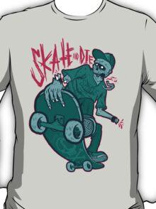 Skate and Die blue T-Shirt