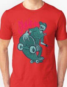 Skate and Die blue Unisex T-Shirt