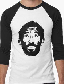 Lee Scratch Perry Reggae Stencil Men's Baseball ¾ T-Shirt