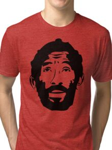 Lee Scratch Perry Reggae Stencil Tri-blend T-Shirt